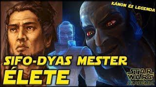 Sifo-Dyas Jedi mester teljes élete. - A Klónsereg kitalálója, a Sith áldozata   Star Wars Akadémia
