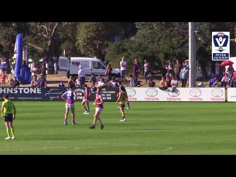 Rd 3 VFL Sandringham v Port Melbourne Highlights 2018