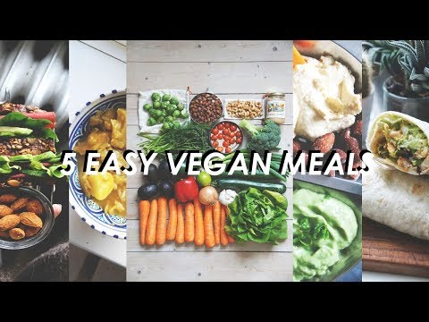 EASY VEGAN MEALS // low waste & healthy
