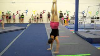 Guinness World Record for the Most Consecutive Handstand Pirouettes (30)