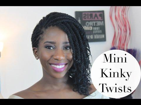 HOW TO GET MINI KINKY TWISTS   AdannaDavid