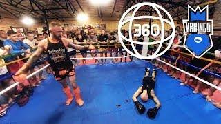 КРОВАВЫЙ СПОРТ! Муай тай в виртуальной реальности • 360 VR Video (#VRKINGS)