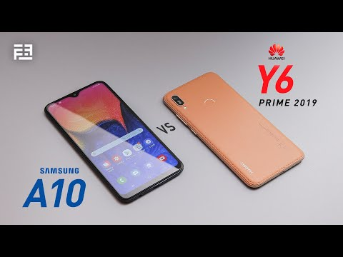 Samsung Galaxy A10 vs Huawei Y6 Prime 2019: In-depth Comparison Review!