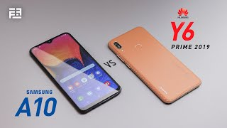 Samsung Galaxy A10 vs Huawei Y6 Prime 2019:In-depth Comparison Review! Обзор Huawei y