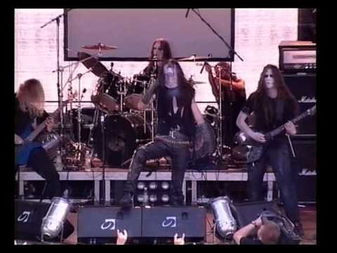 Dark Fortress - Crimson Tears (live @ Party.San 2003) /w Azathoth !!!