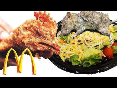 Top 10 Disgusting Things Found In McDonald Foods