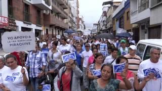 Armenia apoyando a la hermana María Luisa Piraquive