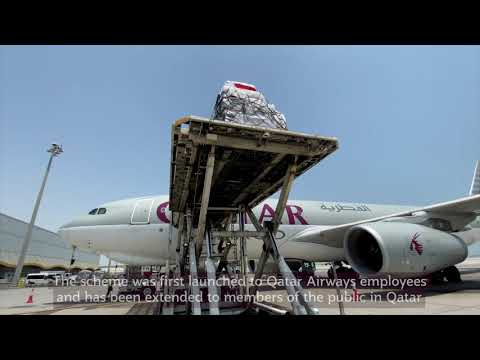 Qatar Airways in support of Lebanon