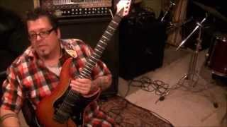 How to play Dancing On Glass by Motley Crue on guitar by Mike Gross