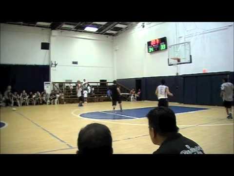 Morgan Aiken: Half Time Buzzer Beater vs Alumni