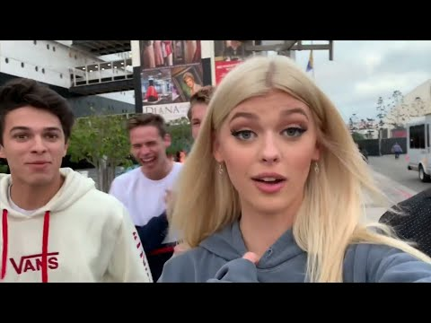 GETTING DRESSCODED & SNEAKING ONTO HAUNTED SHIP  Loren Gray deleted