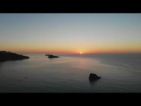 Meadfoot sunrise paddle/swim