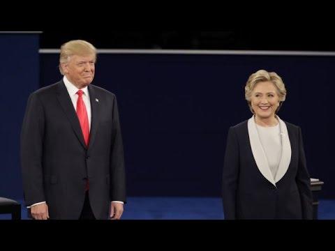 美国总统大选第二场辩论 (直播) - 北京时间2016.10.10早上九点