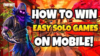 How To WIN Every Game On Fortnite Battle Royale Mobile! (Tips + Tricks!)