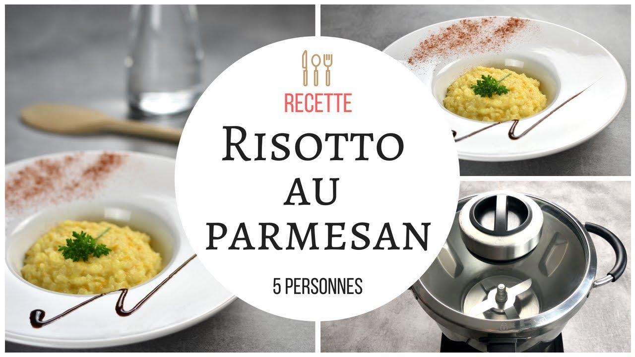 superbe risotto au parmesan leger recette au cook expert magimix