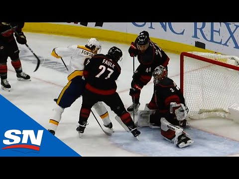 Filip Forsberg Scores Classic Between-The-Legs Goal On Petr Mrazek