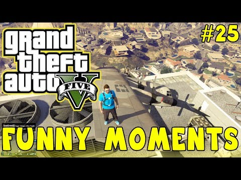 Thumbnail: GTA 5 Funny Moments #25 (Trolling Kids, Stunts, Fails AND MORE!)