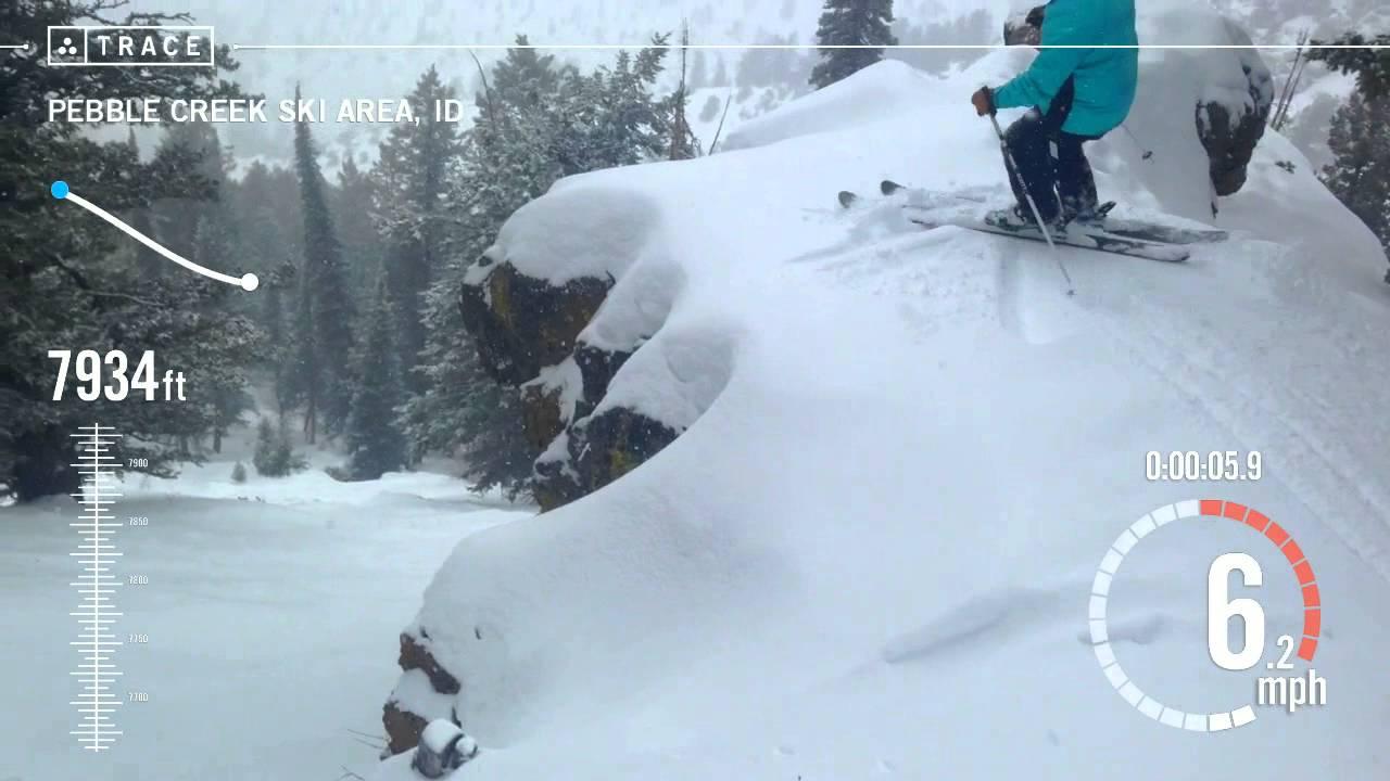 trace: skiing - travis malzahn at pebble creek ski area - youtube