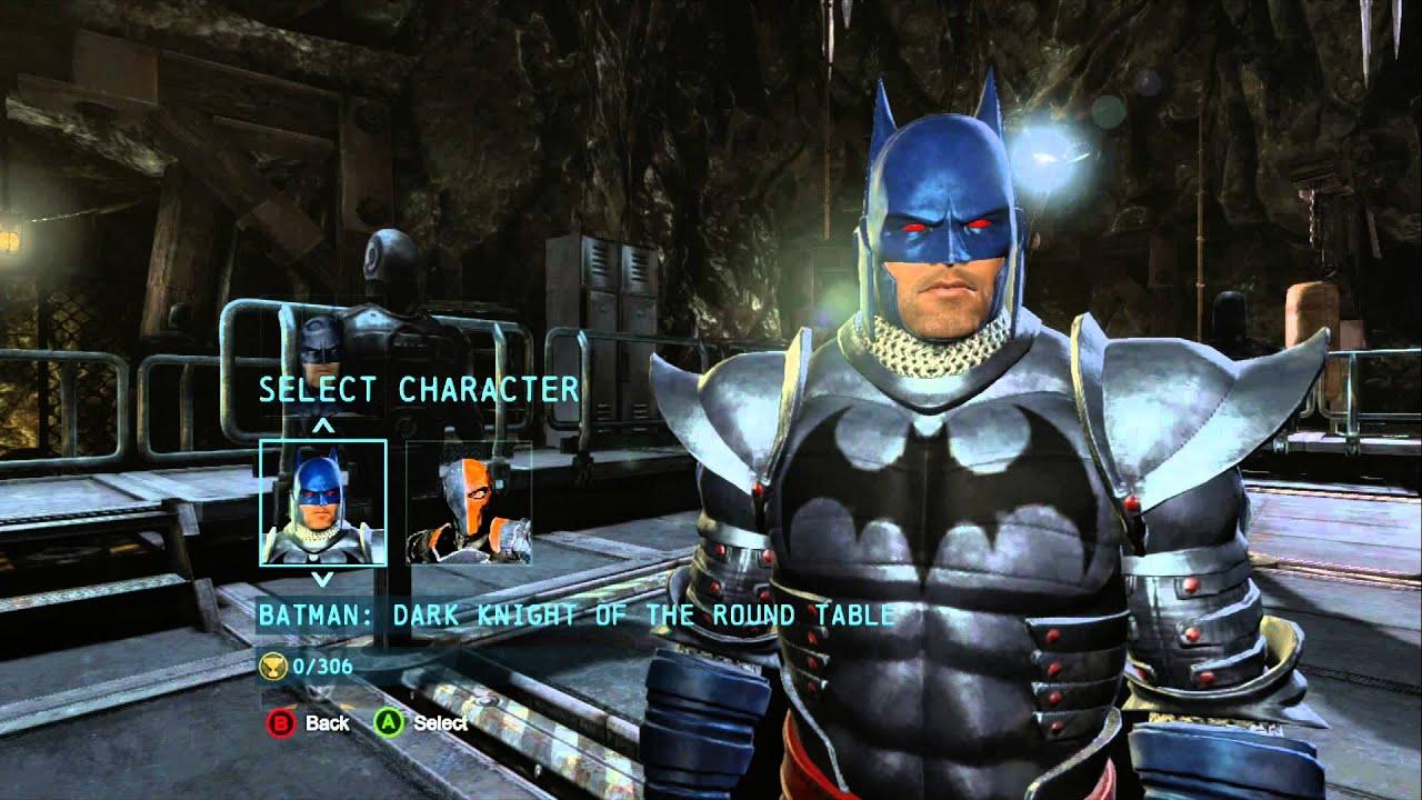 Batman Arkham Origins DLC Costumes + Deathstroke Costumes   YouTube