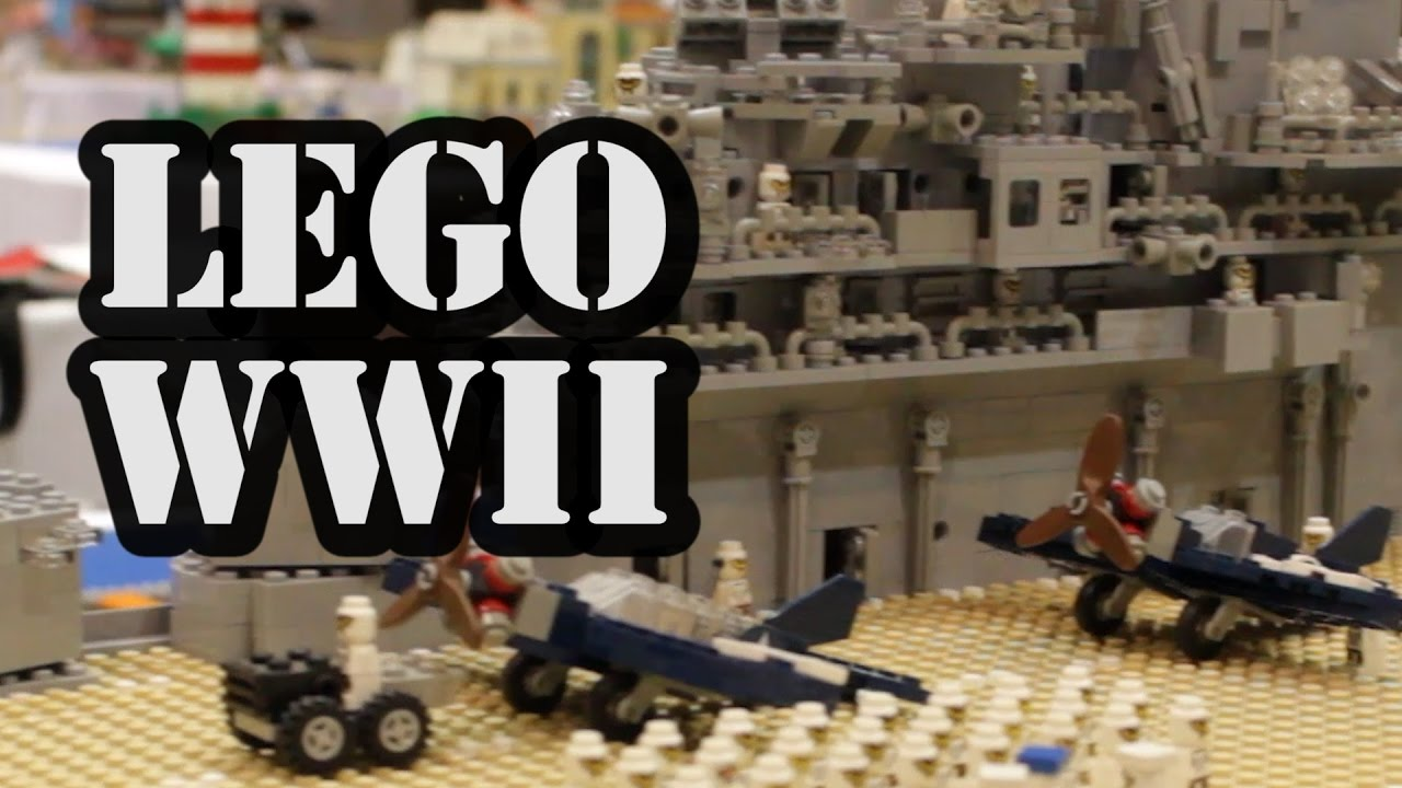 Lego Uss Yorktown Wwii Aircraft Carrier Youtube