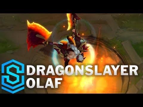 Dragonslayer Olaf Skin Spotlight - League of Legends