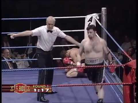 Darren Corbett vs Chris Woollas 17.12.1996 (1st Rd TKO)