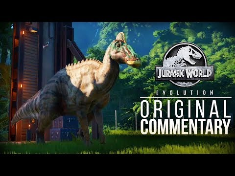 Jurassic World Evolution Gameplay | ORIGINAL COMMENTARY RECORDING