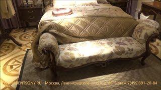 """Видео обзор: Оттоманка """"Крофорд А"""" классическая"""