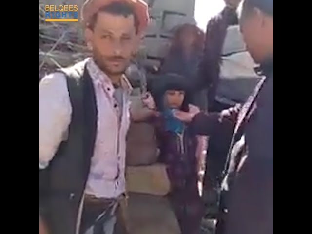 A father in Yemen sells his 10-year-old daughter in an official contract!