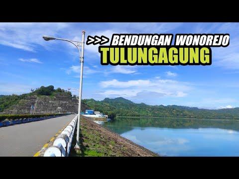 Bendungan Wonorejo Di Kabupaten Tulungagung