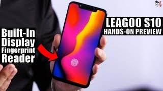 LEAGOO S10 Hands-on Preview: Helio P60 chipset & 6GB of RAM