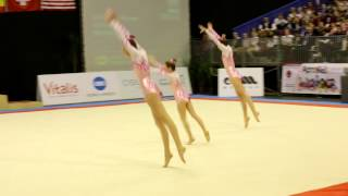 Gymnastics MIAC 2014 AG1 WG Balance NED FliK Flak Den Bosch