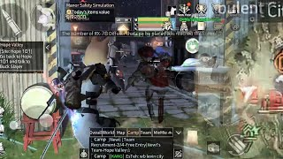 1 VS 10 Di Camp Sultan ! Howi Kaleng Vs Howi CE - Lifeafter PVP Server Levin City