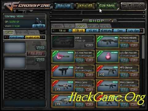 Huong dan Hack Vcoin GP quay Delta, Rose va bug sung bau vat CrossFire 2010