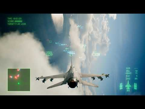 Ace Combat 7 Skies Unknown Mission 3 Two Pronged Strategy |