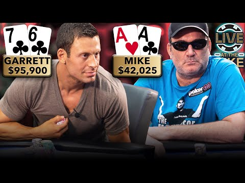 INSTANT CLASSIC! LEGENDS OF POKER COLLIDE IN A HAND FOR THE AGES ♠ Live At The Bike!