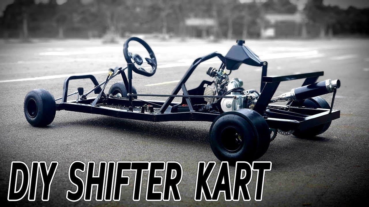 Build a Shifter Kart at Home - DIY F1 Gokart v3 - Tutorial