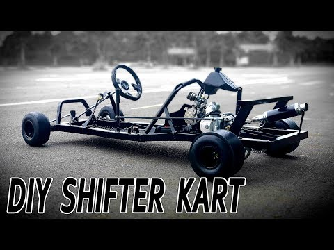 Build A Shifter Kart At Home - DIY F1 Gokart V3 - Tutorial
