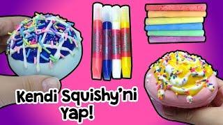 Kendi Squishy Oyuncağımı Kendim Boyadım | DIY Squishy Kit | Zep'in Oyuncakları