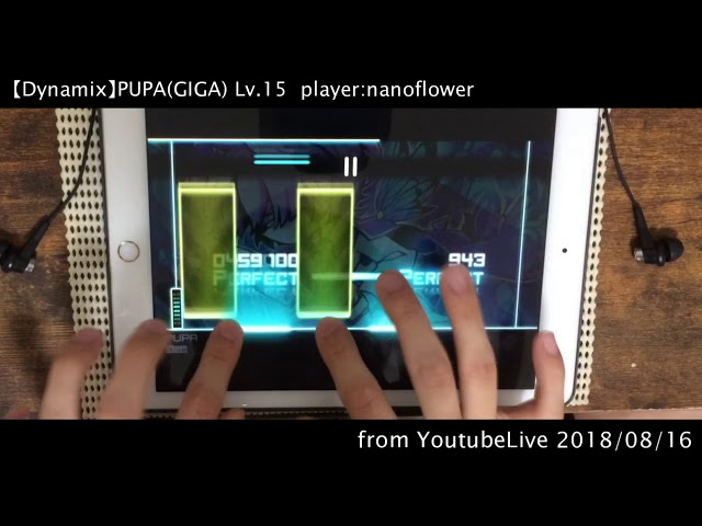 【MAXLv15:超あつモリ】PUPA(GIGA) All PERFECT!! OMEGA Rank【Dynamix】