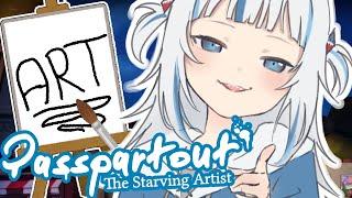 [PASSPARTOUT] shark girl make art