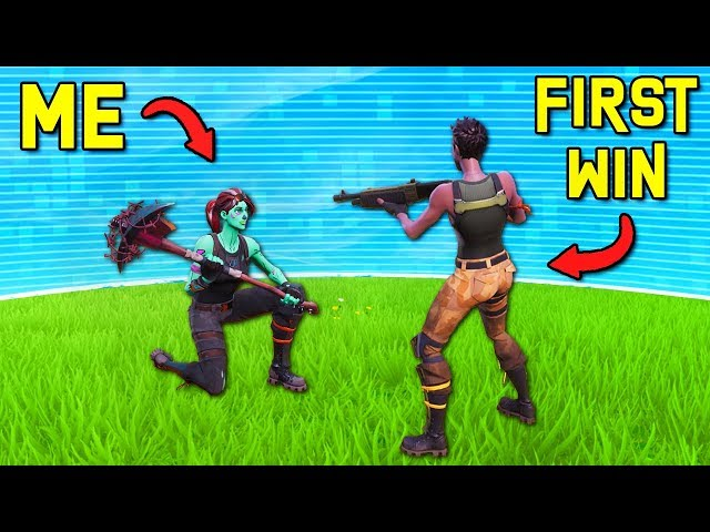 I let DEFAULTS get their FIRST SOLO WINS  -  Fortnite Battle Royale