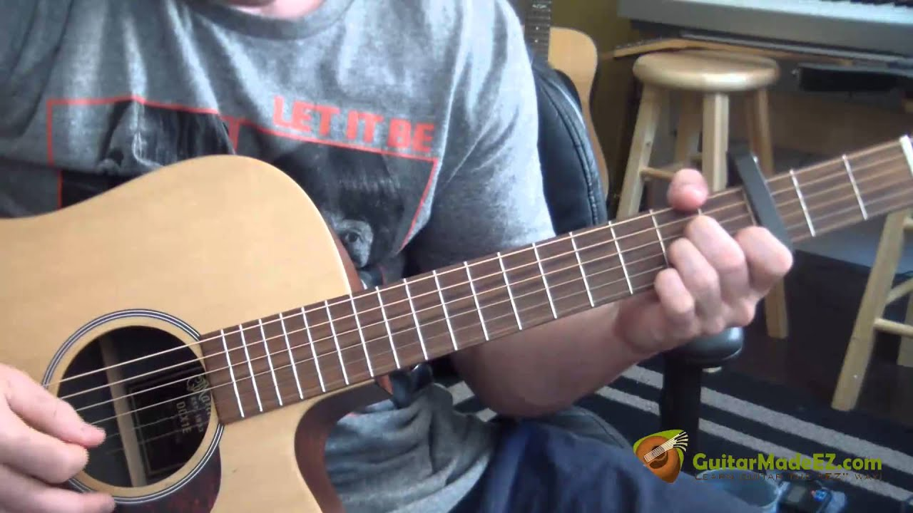 how to play thunder by imagine dragons on guitar