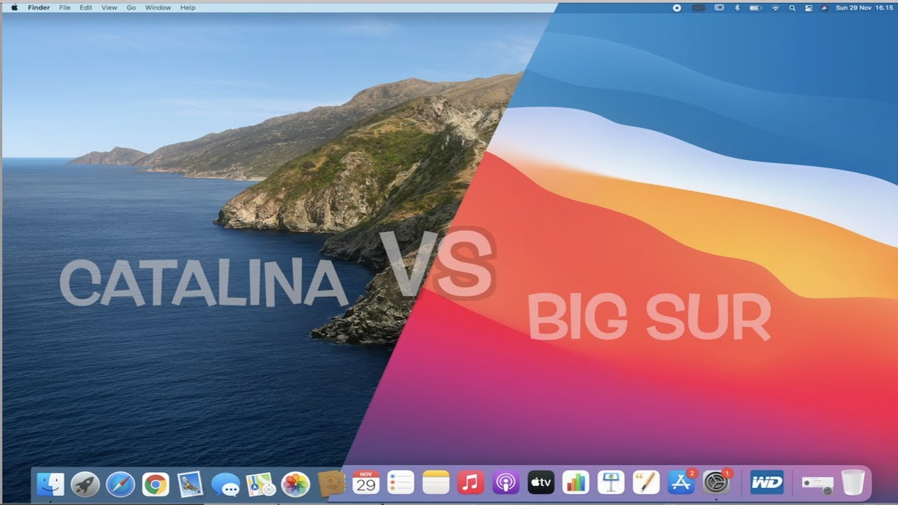 Catalina vs Big Sur | Upgrade New MacOS di Macbook Pro 16 inch | Indonesia  - YouTube