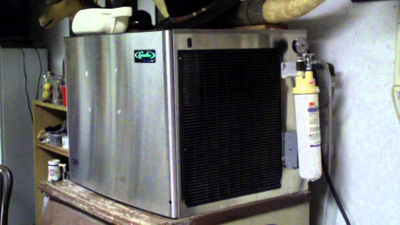 Update on the Cornelius XAC 530 Ice Machine - It's Fixed! on