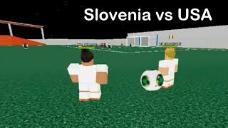 WIC II - Slovenia vs USA sintesi Highlights e gol (ROBLOX)