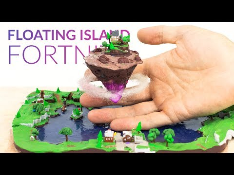Floating Island & Loot Lake (Fortnite Battle Royale) – Polymer Clay Tutorial