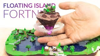 Floating Island & Loot Lake (Fortnite Battle Royale) - Polymer Clay Tutorial