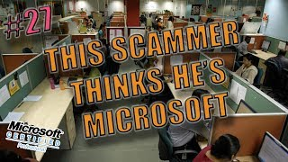 This scammer thinks he's working for Microsoft | scambaiting #27