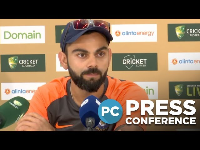 'Hope no more grass is taken off the pitch' - Kohli